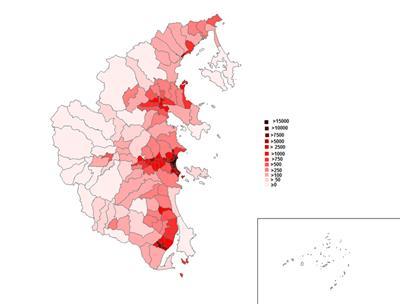 Bản đồ hành chính Khánh Hoà và Thông tin quy hoạch