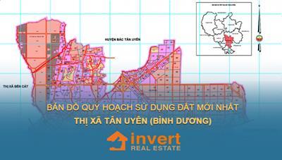Bản đồ quy hoạch sử dụng đất thị xã Bến Cát năm 2021