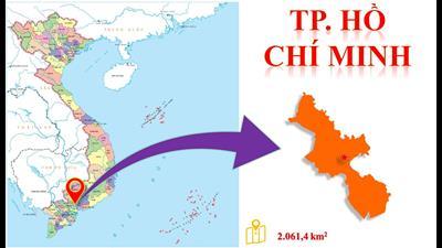 Bản đồ các Quận TP HCM (Sài Gòn) năm 2021
