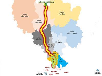 Bản đồ giá bán 20 chung cư tại thành phố Thuận An hiện nay