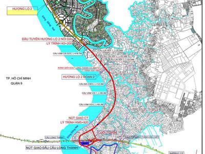 Dự án tuyến đường Hương lộ 2 nối dài đang đến đâu?