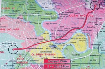 Thông tin quy hoạch tuyến đường Tân Sơn Nhất - Bình Lợi - Vành Đai ngoài