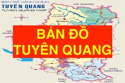 Bản đồ Tuyên Quang khổ lớn phóng to chi tiết