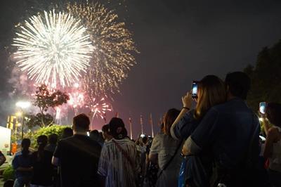9 địa điểm bắn pháo hoa tại Bình Dương mừng xuân Tân Sửu 2021