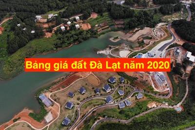 Bảng giá đất Đà Lạt năm 2020 chính thức được thông qua