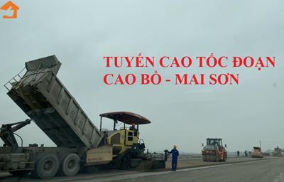 Cao tốc Cao Bồ - Mai Sơn được ghép từ 2 dự án độc lập với nhau