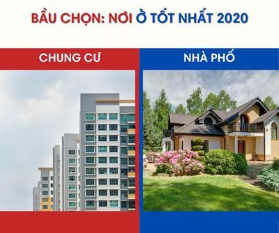 Bầu chọn: Chung cư hay nhà phố là nơi ở tốt nhất năm 2021