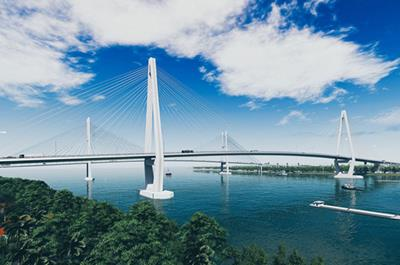 Cầu Mỹ Thuận 2 được đầu tư xây dựng hơn 5.000 tỷ đồng