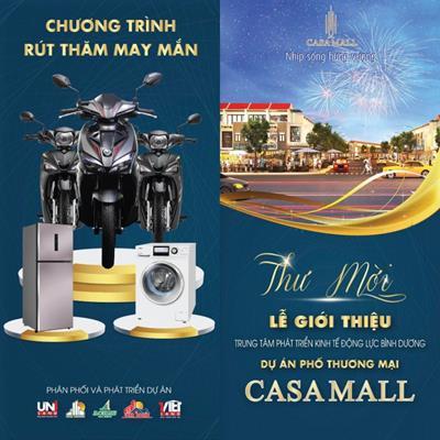 Chính sách bán hàng dự án Casa Mall và tri ân khách hàng Victory City