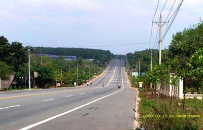 Đấu thầu qua mạng đoạn Quốc lộ 13 nối Chơn Thành - Hoa Lư gần 100 tỷ