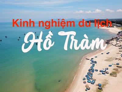 Kinh nghiệm du lịch Hồ Tràm (Vũng Tàu) năm 2020