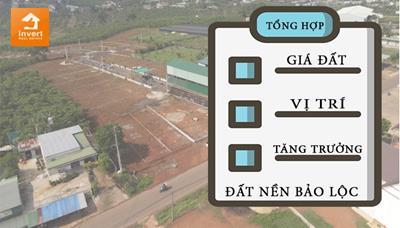 Giá đất phân lô và đất nền dự án tại Bảo Lộc năm 2021