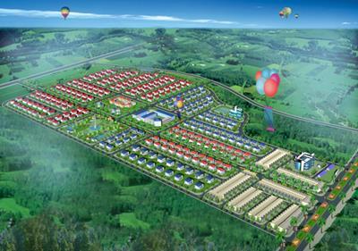 Long Thành- Đồng nai : quy hoạch Khu dân cư Lộc An tăng hơn 1000 dân