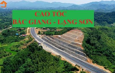 Thông tin đường cao tốc Bắc Giang – Lạng Sơn