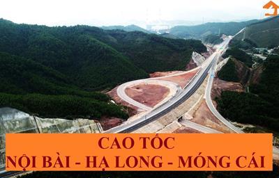 Toàn cảnh dự án cao tốc Nội Bài - Hạ Long - Móng Cái