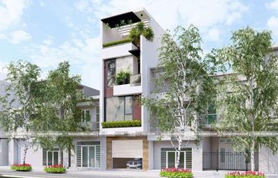 Tổng hợp 10 mẫu nhà phố 3 tầng đẹp nhất dẫn đầu xu hướng 2020
