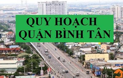 Thông tin quy hoạch quận Bình Tân TP HCM