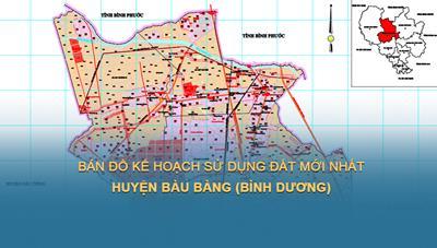 Kế hoạch sử dụng đất năm 2021 của huyện Bàu Bàng