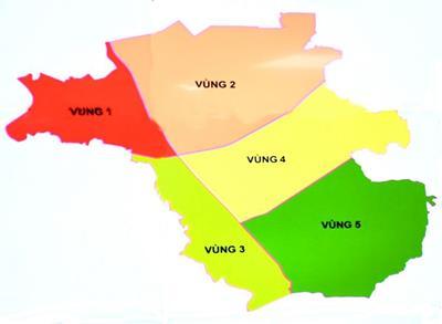 12 dự án có quy hoạch 1/500 trên địa bàn huyện Long Thành