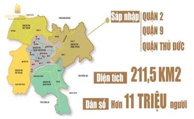 TP.HCM: 5 khu vực sẽ hình thành các đô thị mới quy mô lớn