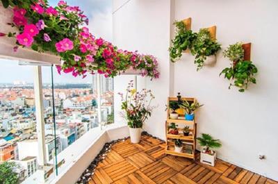 15+ ý tưởng trang trí ban công chung cư tuyệt đẹp