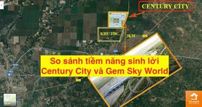 So sánh tiềm năng sinh lời Century City và Gem Sky World tại Long Thành