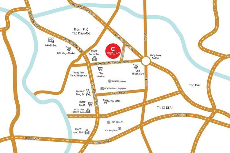 Thuận An Central