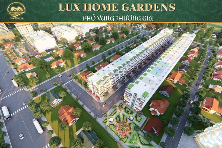Phối cảnh dự án khu dân cư Lux Home Gardens 2