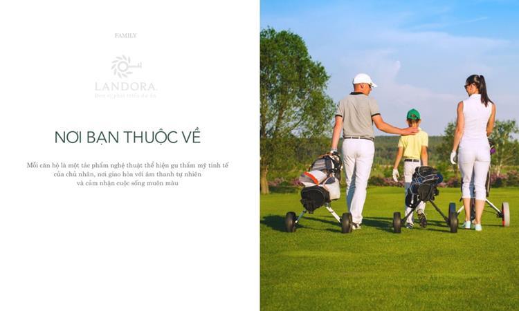 Golf View Luxury Apartment