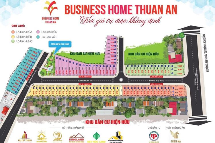 Business Home Thuận An