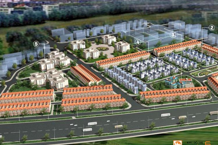 Phối cảnh dự án đất nền Dương Kinh New City Hải Phòng