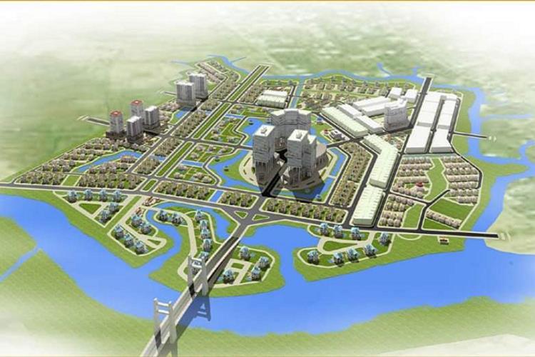 Phối cảnh dự án khu đô thị The Green Village Bình Chánh