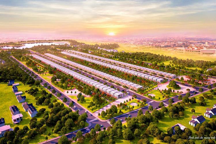Phối cảnh dự án đất nền Phú Mỹ Future City Bà Rịa
