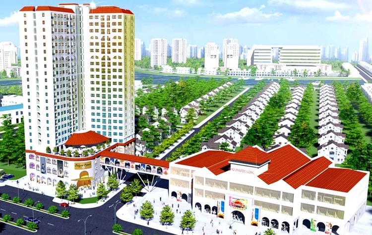 Phối cảnh dự án căn hộ Viva Plaza Quận 7