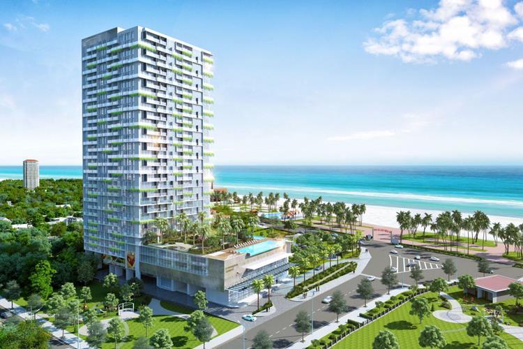 Phối cảnh dự án căn hộ khách sạn CSJ Tower Vũng Tàu