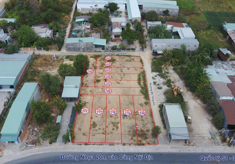 Hình ảnh thực tế Khu dân cư Tân Phước (Phố chuyên gia Phú Mỹ 3) Bà Rịa