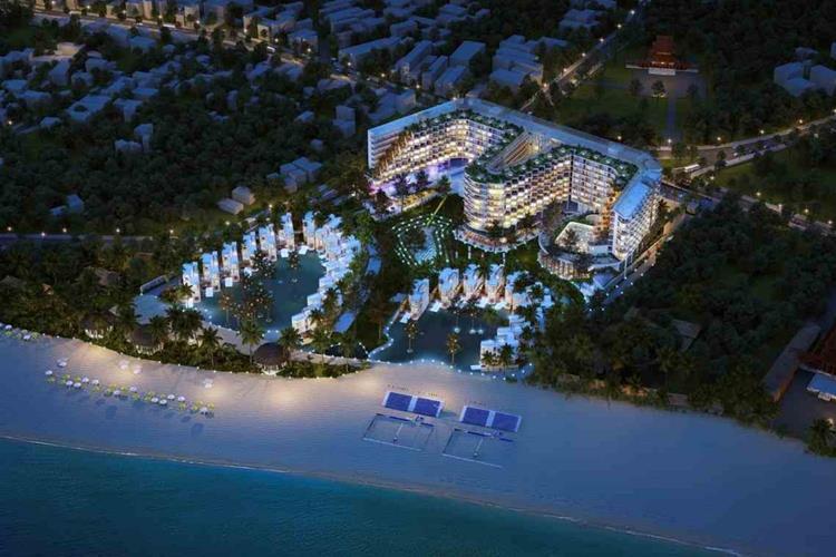 Phối cảnh dự án Charm Hồ Tràm Resort & Spa Bà Rịa