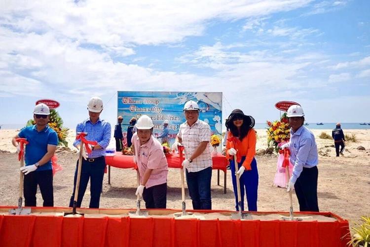Lễ động thổ dự án Charm Hồ Tràm Resort & Spa Bà Rịa