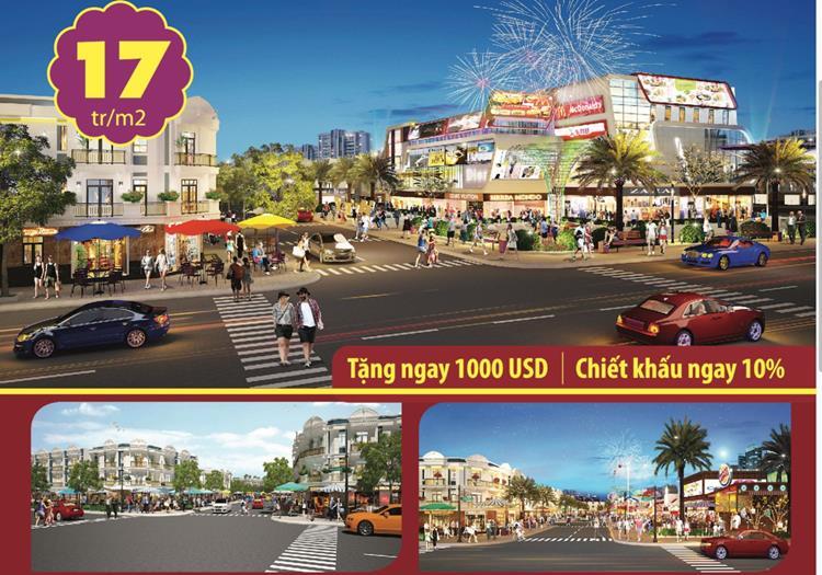 Phối cảnh dự án Nhật Huy Shopping Mall Bến Cát Bình Dương