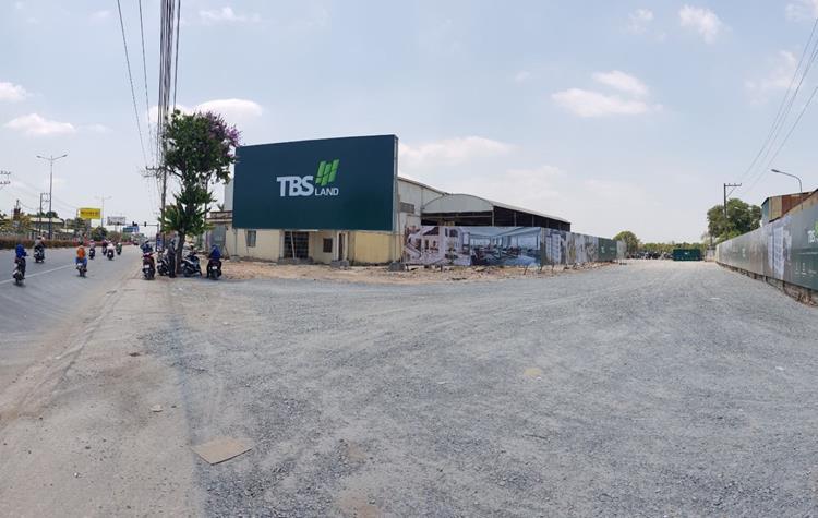 Hình ảnh thực tế dự án Hồ Gươm Thuận An City Bình Dương