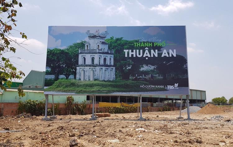 Hồ Gươm Xanh Thuận An City