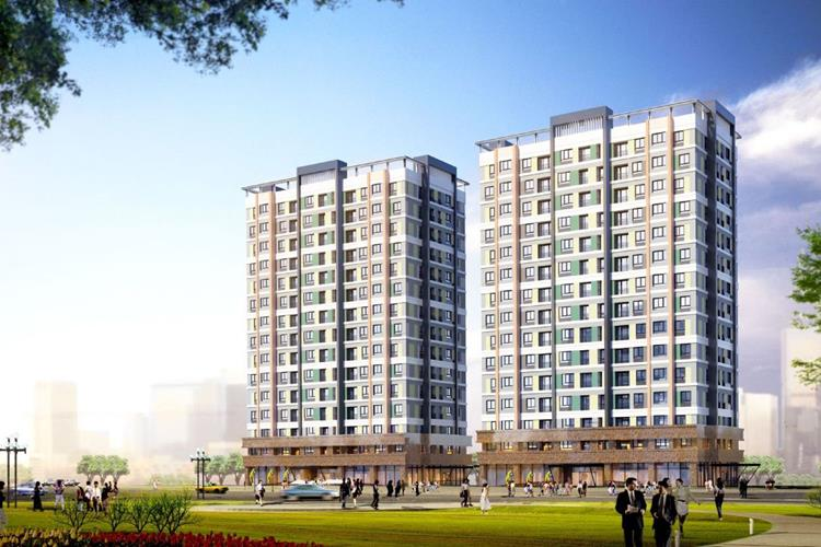 Phối cảnh dự án căn hộ Rivana Thuận An Bình Dương