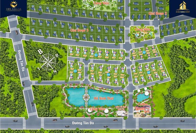 Mặt bằng phân lô dự án Bảo Lộc Sun Valley Lâm Đồng