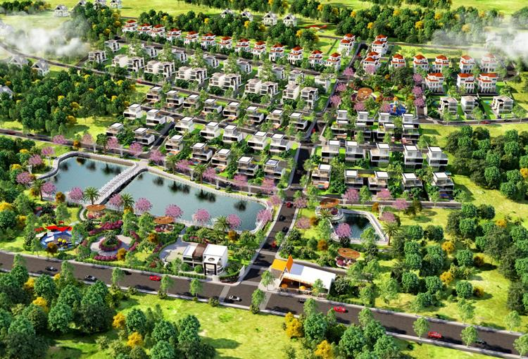 Phối cảnh dự án đất nền Bảo Lộc Sun Valley Lâm Đồng