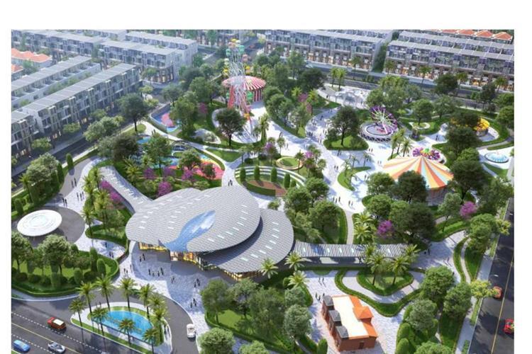 Công viên trung tâm tại dự án Gem Sky World