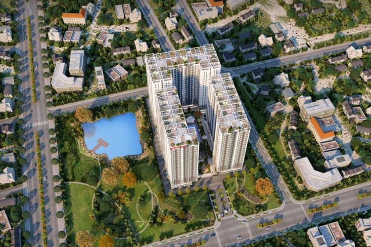 Phối cảnh dự án căn hộ Lux Riverview Quận 7