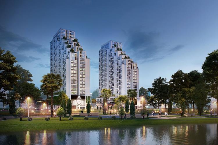 Phối cảnh dự án căn hộ Lux Star Quận 7