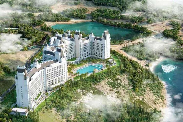 Phối cảnh dự án Vinoasis Nha Trang (Vinpearl Island Condotel Hòn Tre)