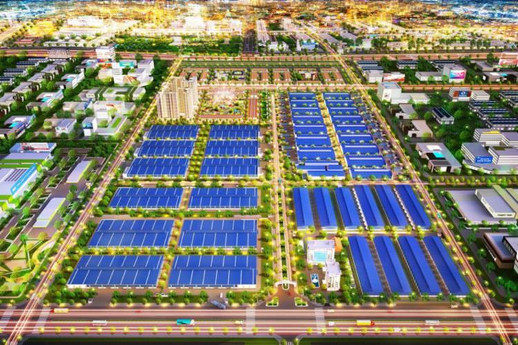 Phối cảnh dự án Khu công nghiệp Phú Tân Bình Dương