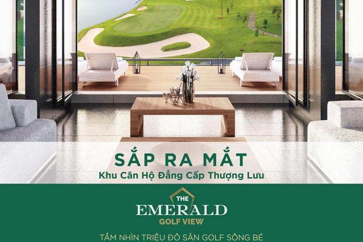 """Sắp ra mắt khu căn hộ đẳng cấp mang tên """"The Emerald Golf View"""""""
